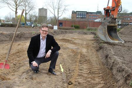 Mögliche römische Siedlung bei Bauarbeiten am Kreishaus entdeckt