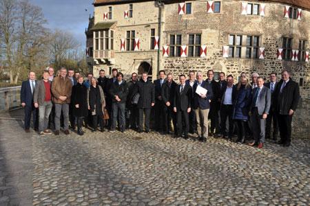 Digitalisierungs-Treffen auf Burg Vischering: Heute schon die Verwaltung von morgen planen