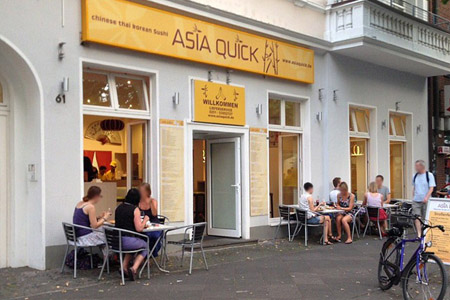Asia Quick: 4-mal in Münster
