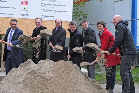 Offizieller Baubeginn zur Modernisierung des Bahnhofs in Ahlen
