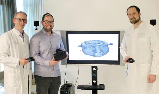 Virtual-Reality-Tour durch das eigene Gehirn: Den Tumor sehen und verstehen