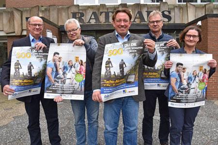 Dritte Runde von STADTRADELN in Ibbenbüren startet am 30. Mai