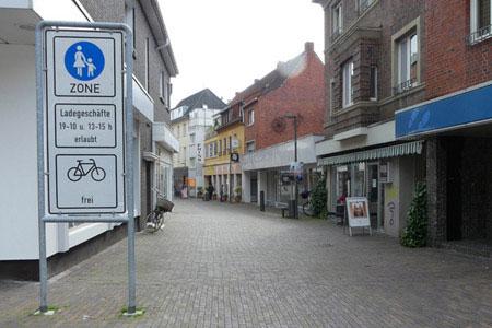 Fußgängerzone und Fahrradstraßen stehen in Dülmen im Fokus