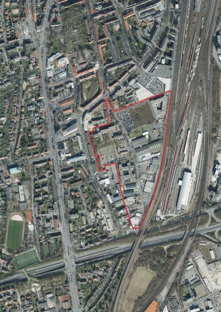 Mit Masterplan auf dem Weg zum urbanen Wohnquartier am Dahlweg