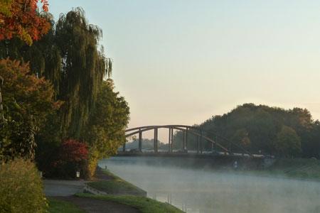 Mehr Komfort für Radfahrende am Dortmund-Ems-Kanal in Münster