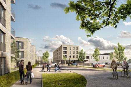 Bezahlbarer Wohnraum auf ehemaligen Gärtnerei-Gelände an der Westfalenstraße