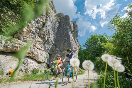 Radfahren rund um Weißenburg