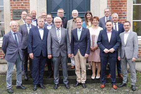 Gemeinsam soll's klappen - Kreis Coesfeld verstärkt übergreifende Zusammenarbeit