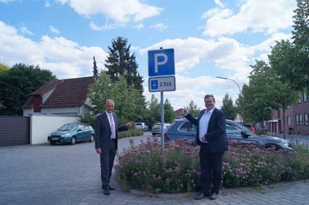 Viele zusätzliche kostenfreie Parkplätze in der Beckumer Innenstadt