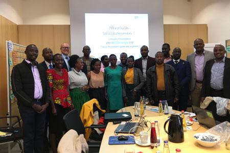 energieland2050 e.V. stellt Delegation aus Uganda regionale Energielösungen vor