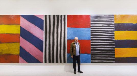Melodie, Rhythmus und die Malerei - Sean Scully im LWL-Museum für Kunst und Kultur