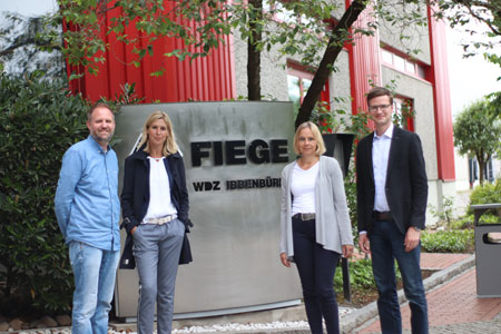 jobcenter Kreis Steinfurt: Fruchtbare Kooperation mit dem Fiege Mega Center