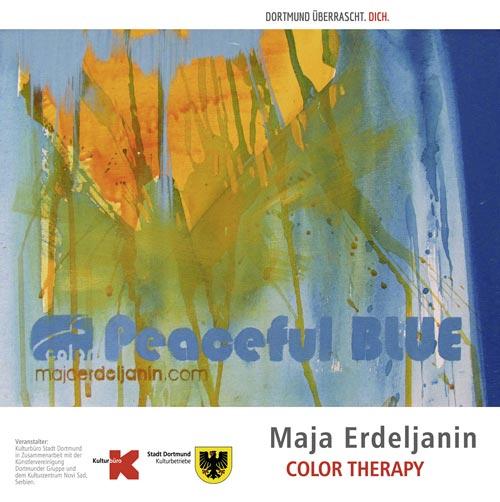 """Maja Erdeljanin - """"Color Therapy"""" stellt ihre Werke in der städtischen Galerie Torhaus aus"""