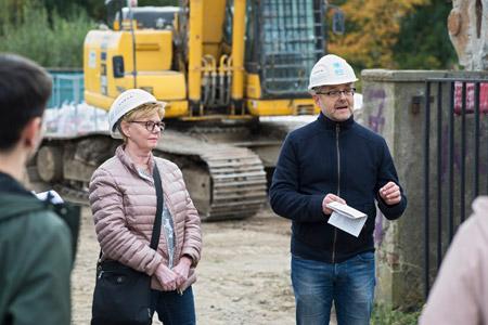 Abriss der alten Stadt-Gärtnerei macht den Weg frei für neues Wohnen im Ostpark