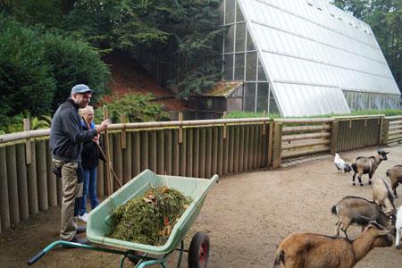 Schichtwechsel im Zoo Dortmund