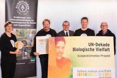 Essener Start-up als offizielles UN-Dekaden-Projekt ausgezeichnet