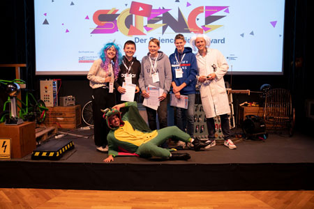Schüler aus Rheine gewinnen Science Video Award von zdi.NRW