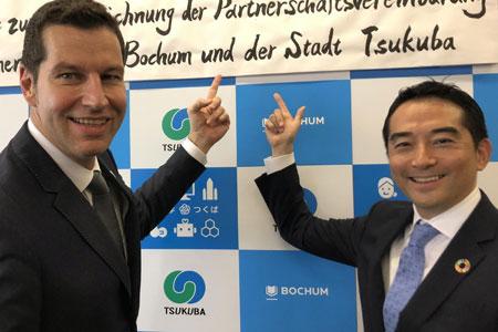 Auf einer Wellenlänge: Tsukuba und Bochum unterzeichnen Partnerschaftsvertrag