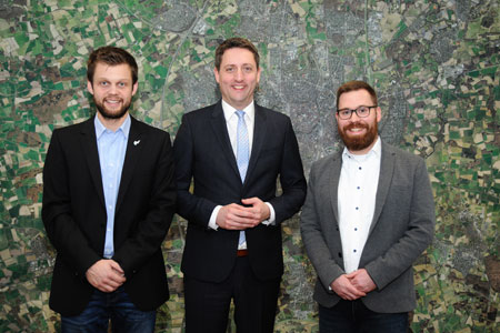 Münster Mitglied im Zukunftsnetz Mobilität NRW