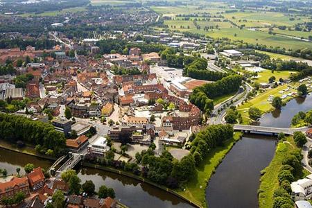 Meppen: Stadt im Grünen - Stadt am Wasser