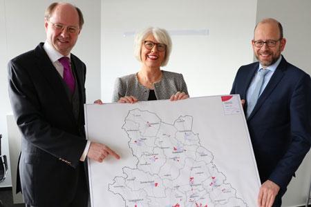 Neuer Förderantrag über 30 Mio. Euro: Glasfaser-Nachschlag für Gewerbegebiete und Schulen