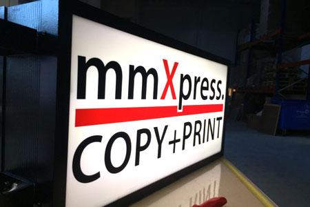 mmXpress - Ihre Anlaufstelle für Werbetechnik
