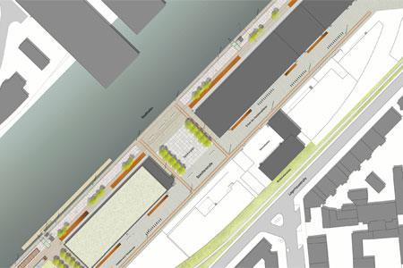 Umgestaltung der südlichen Speicherstraße in Dortmund soll bald beginnen