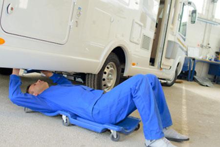 Wohnmobile reparieren lassen bei Hermann Nientied in Münster
