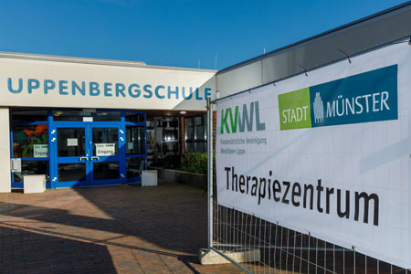 Therapiezentrum in der Uppenberg-Schule