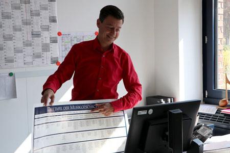 Auch online musizieren lernen / Digitaler Unterricht der Schule für Musik im Kreis Warendorf