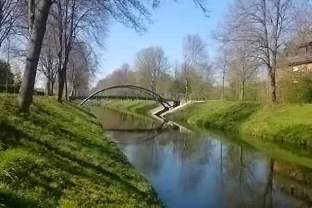 Neue Brücke über die Ostenstever in Lüdinghausen ist jetzt begehbar