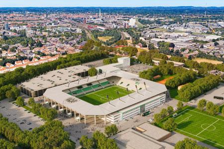 Stadion an der Hammer Straße: Ergebnisse der Machbarkeitsstudie