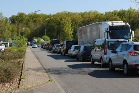 Viel Betrieb an den Recyclinghöfen im Kreis Warendorf