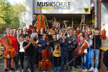 Musikschule Dortmund lädt zur Musikfreizeit in den Herbstferien