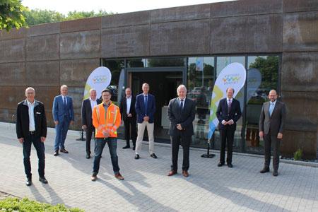 AWG: Landräte nehmen Neubau der Wertstoffwerkstatt in Augenschein