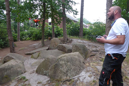 Die westfälischen Zeitgenossen von Stonehenge - Großsteingräber aus der Vogelperspektive