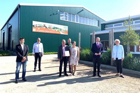 Theilmeier aus Alverskirchen als CSR-Unternehmen ausgezeichnet