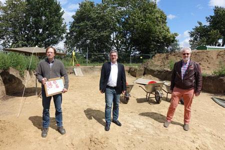 LWL-Archäologen entdecken eisenzeitliche Siedlung in Warendorf