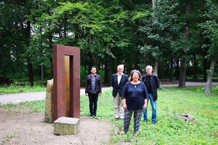 Neue Skulptur bereichert den Fredenbaumpark