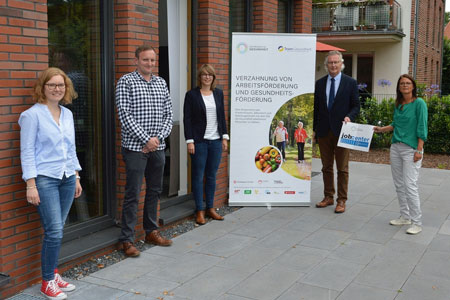 Verzahnung von Arbeits- und Gesundheitsförderung im Kreis Coesfeld: Jobcenter und Krankenkassen kooperieren