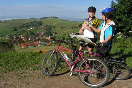 Radfahren rund um Schopfheim