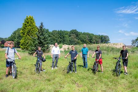 Fahrradfahren mit Fun-Faktor - Dirt-Bike-Park im neuen York-Quartier geplant