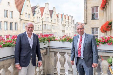 """Dreieckshafen wird """"modernster Schreibtisch"""" Münsters"""