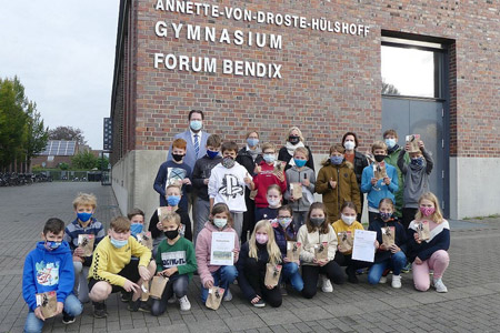 Stadtradeln - zwei Dülmener Schulklassen ausgezeichnet