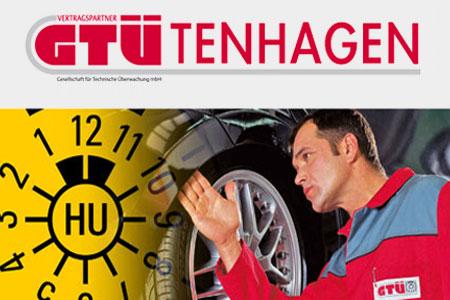 Hauptuntersuchung im GTÜ Sachverständigenbüro Tenhagen