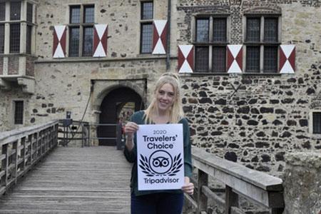Burg Vischering gewinnt den TripAdvisor Travellers´ Choice Award für die Kategorie Excellence