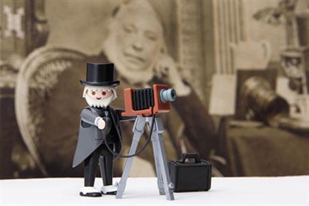 """Zeitreise mit Spielfiguren - PLAYMOBIL-Sammlung Oliver Schaffer"""" im Stadtmuseum"""