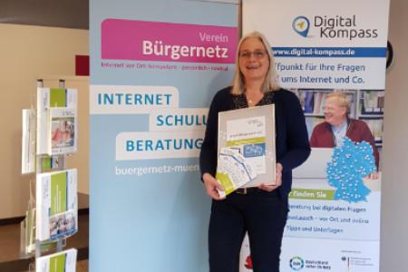 Digital-Kompass Münster - Digitale Bildung für ältere Menschen