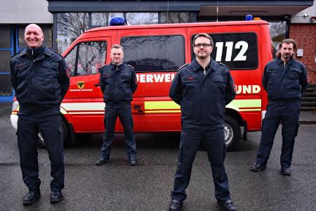 Bei der Feuerwehr Dortmund steht die Psychosoziale Notfallversorgung rund um die Uhr zur Verfügung