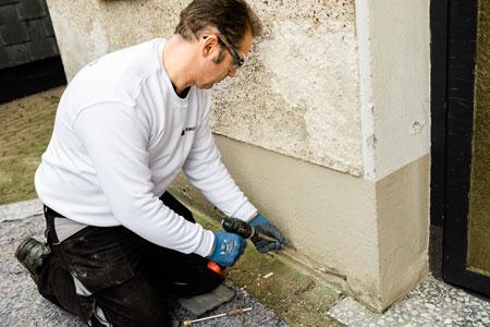 Sichern Sie Ihre 4 Wände gegen Feuchteschäden und deren Folgen.
